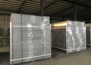 China Construction Portable Fencing Panels OD 32mm x 1.2mm Mesh 60mm x 150mm Diameter 3.5mm factory