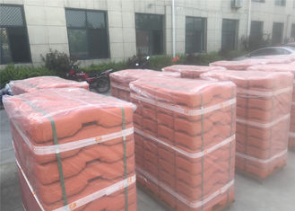 China HDPE temporary fencing base 2.1m x 2.4m OD 40mm heaviest duty temporary fencing panels hot dipped galvanized minimum 42 factory