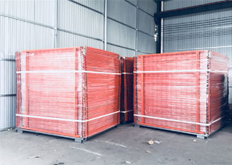 China OD 40mm tube Temporary Fencing Panels For SYDNEY and NZ market 2.1mx2.4m Mesh 60mm*150mm factory