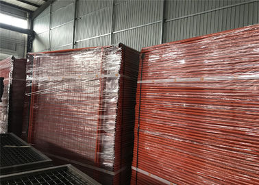 China OD 40mm*2.00mm wall thick NZ Nelson Port Temporary Fencing Panels 2.1m x 2.4m Mesh 60mm*150mm Diameter 4.00mm factory