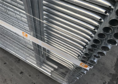 China AS4687-2007 standard Construction Site Portable Temp Fence Panels NZS3750.15 Zinc Coated Minimum 42 microns hdg factory