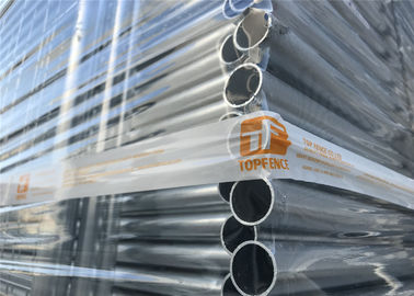 Australia Temporary Fencing Panels 2.1m*2.4m Width OD 32mm wall thickness 1.6mm mesh 60mm*150mm