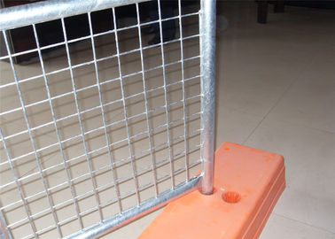 China 40mm tube wall thickness 2.0mm Mesh 75mm*75mm temporary fencing panels 2.1mx2.4m SYDNEY factory