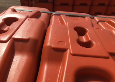 "40mm Outer diameter Temporary Fencing Base HDPE 5502 center distance 75mm/3"" Highest quality UV powder BASF treated"