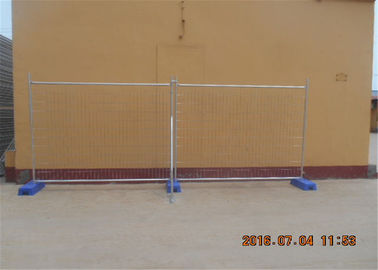 China 2.1mx2.4m 40mm  tube x 1.5mm temp construction temporary fence panels hot dipped galvanized to be 42 microns factory