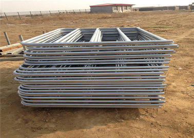 hot dipped galvanized electrostatic powder coated Farm gate  72'' high 16 gauge 6 bars galvanized farm gate fence for sa