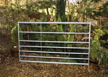 HDG Farm Gate 32*1.6mm round pipe 12x4ft size horse corral fence farm gate fence for the USA