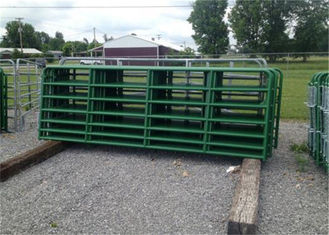 1800mm x 2100mm Horse Fence Round Pen 42mm O.D x 1.6 mm thickness Arena Corral Panel and Fram Gate Used In USA Market