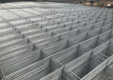 China 2.1mx2.4m OD 32mm wall thick Hot dipped galvanized temporary fence for Australia / New zealand factory