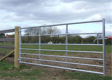 1.8mx2.1m US standard Farm fence gate for cattle Farm fence hinge joint farm fence metal corral panels Farmgate