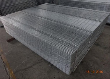 China 3D Green Pvc Coated Welded 358 Security Wire Mesh Fence factory