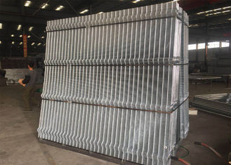 China Hot dipped Galvanized 358 wire Fence Panels 2200mm/2300mm x 2515mm width Mesh 12.70mm*76.20mm diameter 3.00mm factory