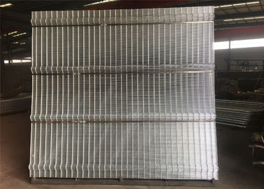 China High Security Clearvu Mesh Fence Panels / 358 Anti Climb Fence / Prison Fence factory