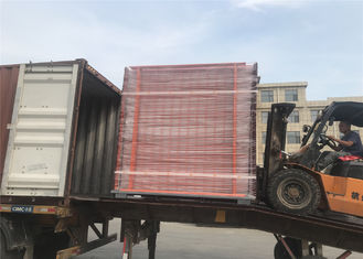 China Australia Adeliade AS4687-2007 standard Temporary Fencing Panels 2.1mx2.4m OD32mm wall thick 2.00mm Mesh 60mmx150mm factory