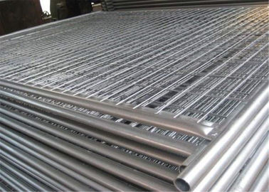 China 42mm tube 2.1m height 2.4m width temporary fencing panels materials q195 nelson temporary fence factory