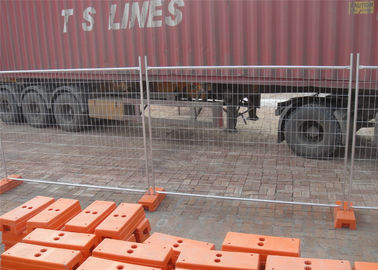 China 2.1mtrs x 2.4mtrs width mesh 60mm*150mm diameter 4.00mm as4687-2007 temporary fencing panels factory