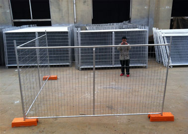 China Temporary Construction Fencing New Zealand 2.1m x 2.4m OD 40mm wall thick 1.60mm factory