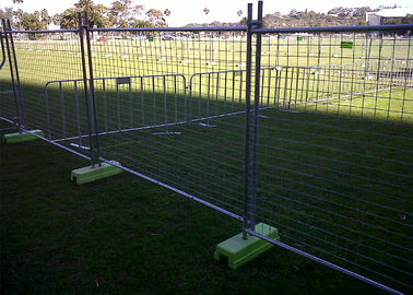 High Zinc Coated 42 microns Temporary Fencing Panels OD 32mm x 2.00mm Mesh 60mm x 150mm 3.8mm diameter AS4687-2007