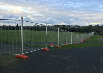China Australia Temporary Fencing Panels 2.1m*2.4m Width OD 32mm wall thickness 1.6mm mesh 60mm*150mm factory