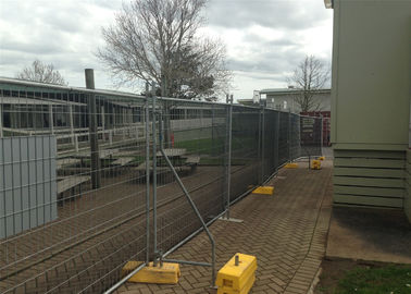 2.1m x 3.3m OD 32 mm tube Temporary fencing, portable fence, removable fence, temporary fence panel and easy fence.