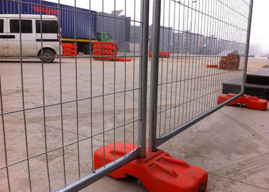 China Construction Temp Fence Panels OD 40mm wall thick 1.5mm 2100mm height x width 2400mm Diameter 4.00mm Christchurch CITY factory