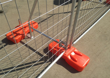 Construction Site Temporary Construction Fencing Panels OD 40mm for NZ Tauranga 2.1m*2.4m