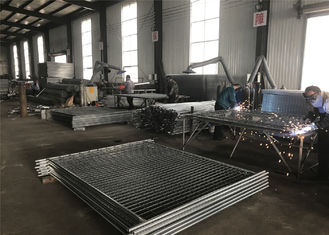 Temporary fencing panels 2100mm x 2400mm 14 microns zinc layer hot dipped galvanized
