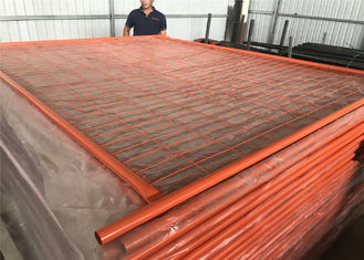China Portable Fencing Panels OD 32mm x 1.40mm Mesh 60mm x 150mm Diameter 3.00mm for Melbourne Market factory