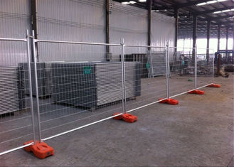 China Rental Temporary Fence Panels Portable Construction Site Fence Panels 2.1mx2.4m OD 32mm Wall thick 1.60mm factory