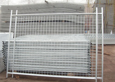 China NZ Standard Temporary Fencing Panels 2.1m x 3.0m Mesh 60mm x 150mm with a 3.00mm wire diameter factory