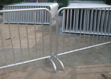 Customized metal crowd control barrier/portable barricades/pedestrian barriers
