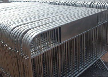 crowd barrier / hot sale used concert metal crowd control barriers 1.1M height x 2.5M width 35mm tube