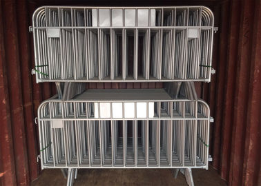 ​Hot-dipped Galvanized Crowd Control Barriers