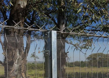 China High Security Clearvu Wire Fence Panels 1800mmx2515mm width factory