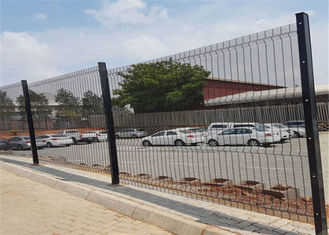 China Galvanized South Africa 358 Anti Climb Clearvu Mesh Fence factory