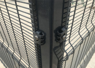 High Security Powder Coated Clearvu Fence