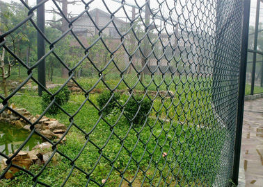 China Chain Link Fence with Pedestrian Gates For Powder Stations factory