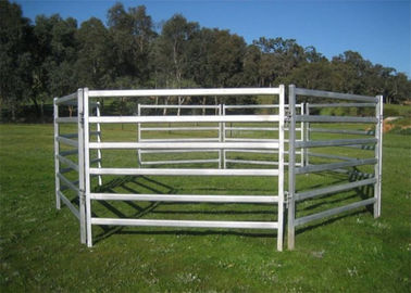 Top quantity galvanized heavy duty used horse fence panels 1.8X2.1M