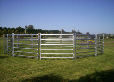18 Horse Panel Cattle Yard HEAVY Duty Outdoor Animal Enclosure with Gate;