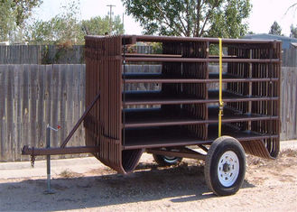 China 12ft General Purpose Farm Gate Cattle Horse Sheep Yard Panels factory