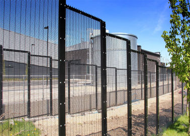 low price hot dipped galvanized prevent climb fence 358 anti climb fence