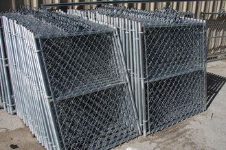 China 8 foot galvanised residential chain link fence factory