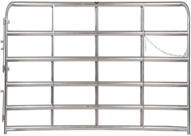 51″ inches in height Consist of 2″ Galvanized O.D. round tubular steel farm fence