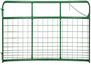 Consist of 1 3/4″ O.D. round tubular steel HEAVY GATE