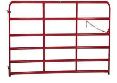 STANDARD 6 BAR GATE*1 3/4″ O.D. round tubular steel