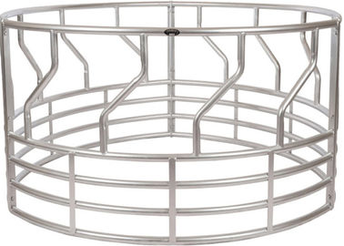 SUPER DUTY 5-RING GALVANIZED ROUND BALE FEEDER