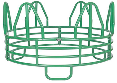China Horse Round MINIATURE 4-RING HORSE ROUND BALE FEEDER factory