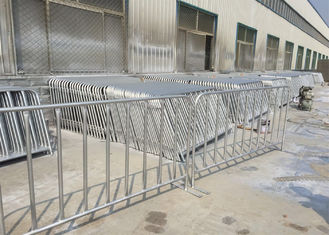 Crowd Control Barriers Hot Dipped Galvanized Portable Fence for Crowd Control