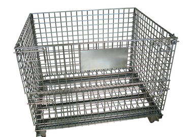 Color Storage Rack Container Metal Wire Mesh Container