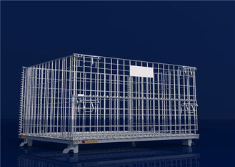 Hot galvanized wire mesh container